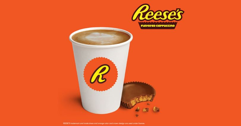 reese's flavored cappucino