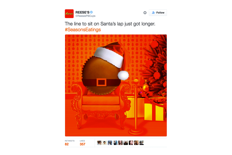 Reese's Twitter