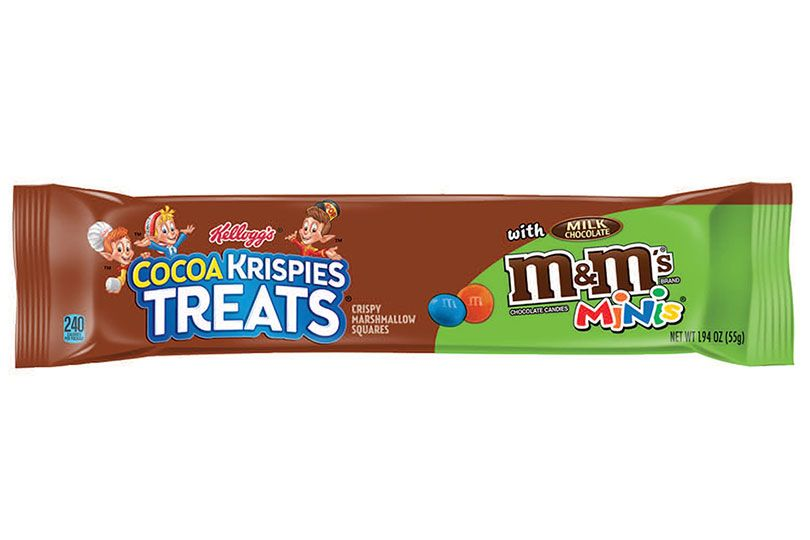 cocoa krispies m&ms mini big bar