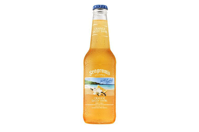 Seagram's Escapes Pink Pineapple Passion and Orange Sassy Swirl