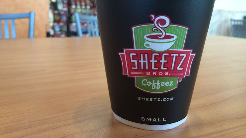 Sheetz coffee cup