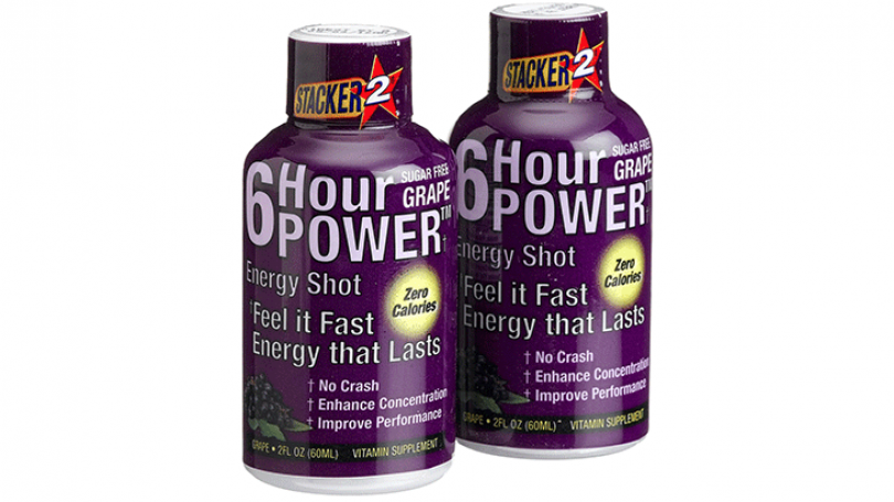 Stacker 2 6 Hour Power Energy Shots