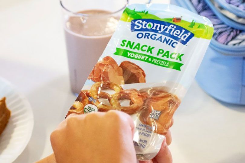 stonyfield snack pack
