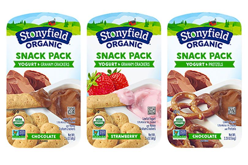 stonyfield snack packs