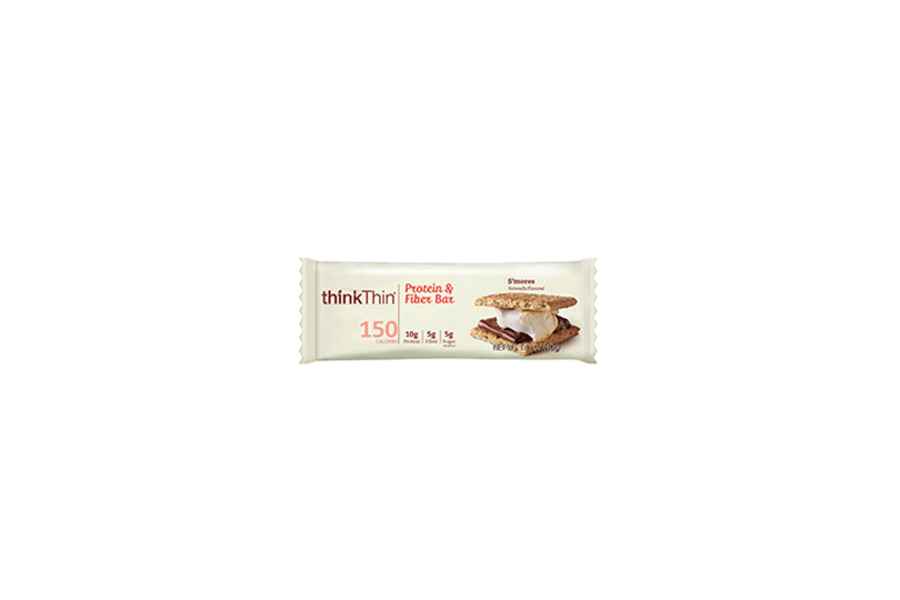 Think Thin S'mores protein and fiber bar