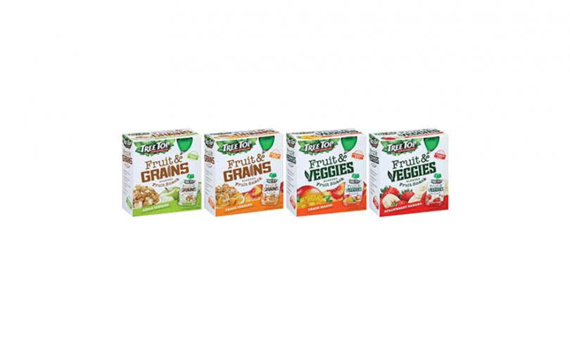 Fruit & Grains and Fruit & Veggies pouches
