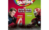 Wrigley Marvel in-store promotion
