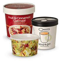Paper to go food containers