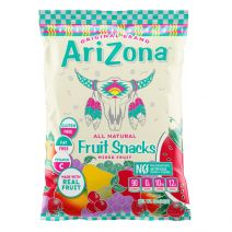 arizona beverages fruit snacks
