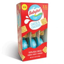 belbrands babybel cheese and crackers