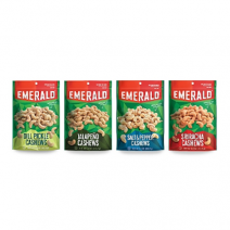 Emerald Nuts new cashew flavors