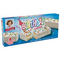 mckee foods little debbie birthday cakes