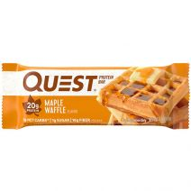 quest maple waffle protein bar