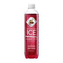 talking rain sparkling ice cranberry frost