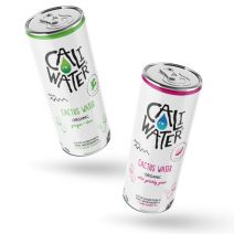 Caliwater Ginger & Lime and Wild Prickly Pear