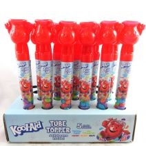Kool-Aid Jelly Bean Tube Toppers and Popping Candy
