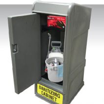 MasonWays Locked Sanitizing Storage Cabinet