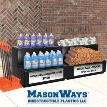 MasonWays Stair Step Merchandisers