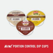 Portion Control Dip Cups