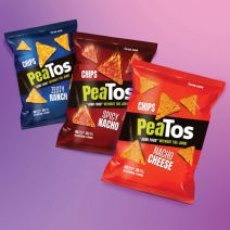 PeaTos Crunchy Chips