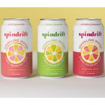 Spindrift Unsweetened Lemonade Sparkling Waters