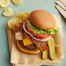 Sweet Earth PB Triple Play Burger