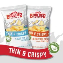 Boulder Canyon Thin & Crispy Potato Chips