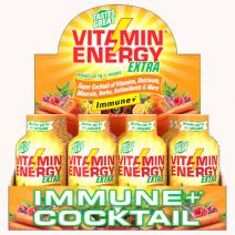 VitaminEnergy Immune Cocktail+, Vitamin D 100%, Sport+ and Workout+