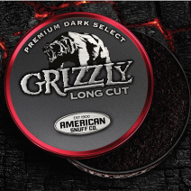 American Snuff Grizzly Premium Dark Select