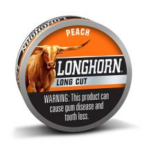 longhorn long cut peach