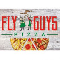 mclane fly guys pizza