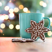Gingerbread Caramel and Peppermint Mocha