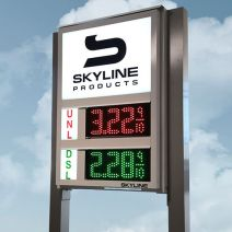 skyline 6inch led sign