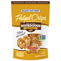 snackfactory sourdough pretzel crisps