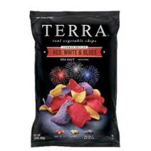 Terra Red, White & Blues chips