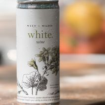 west wilder canned wine