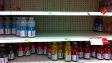 beverage out-of-stock