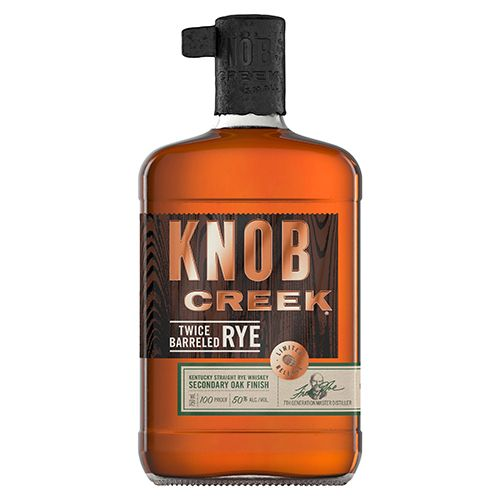 beam suntory knob creek twice barreled rye