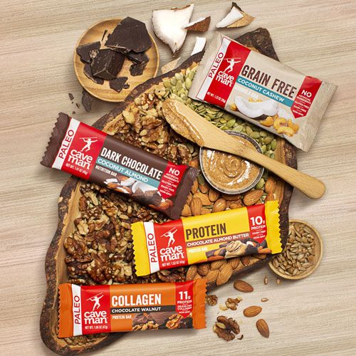 caveman collagen grain free bars