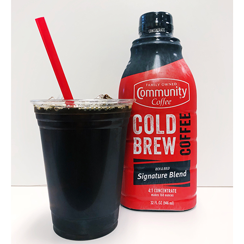 community coffee coldbrew concentrate
