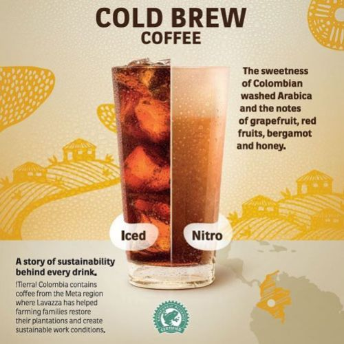 lavazza tierra columbia cold brew coffee