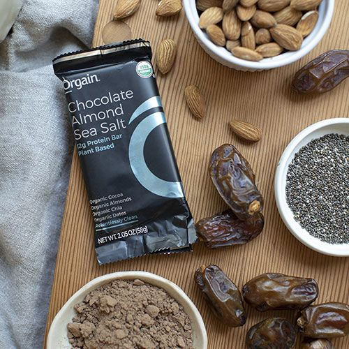orgain organic simple protein bars