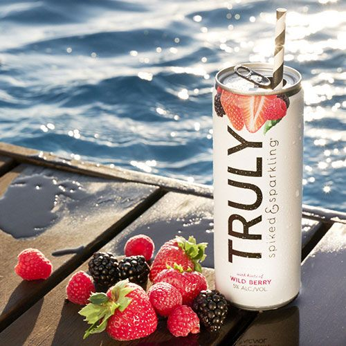 truly spiked and sparkling wild berry
