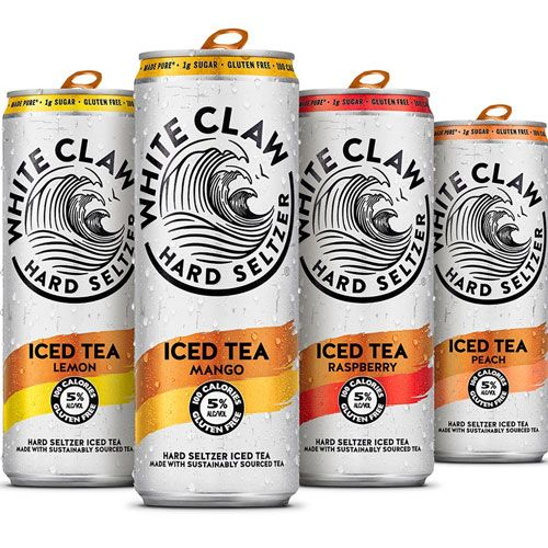 White Claw Hard Seltzer Iced Tea