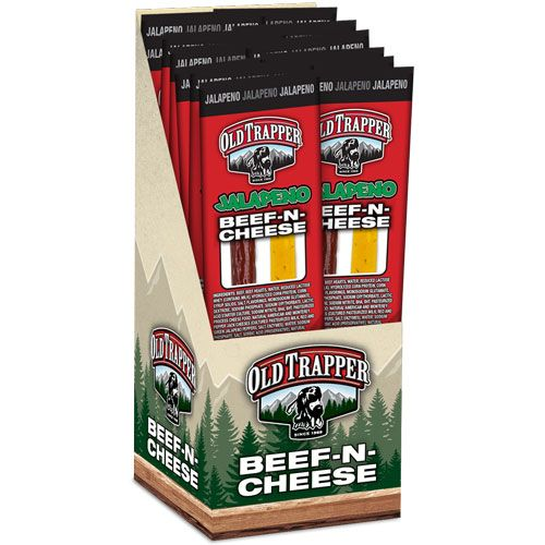 Old Trapper Beef 'n Cheese Zero Sugar