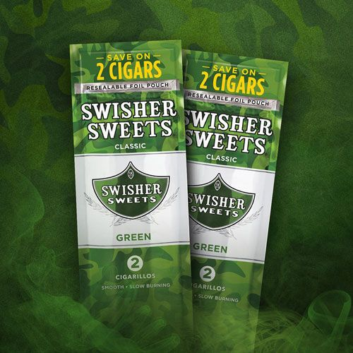 Swisher Sweets Green Camo