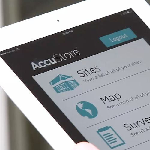 AccuStore software and app update