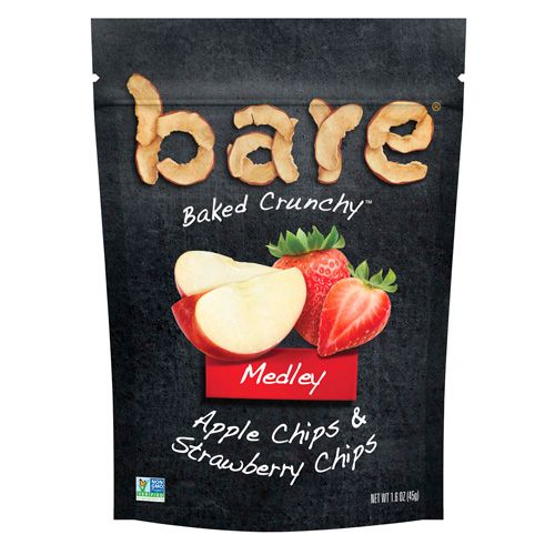 bare snacks bare medley apple and strawberry