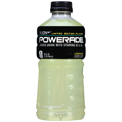 coca cola powerade lemonade