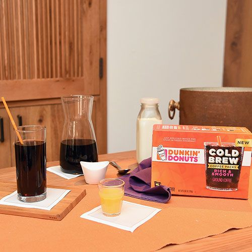 Dunkin' Donuts Coffee at Home Cold Brew Coffee Packs